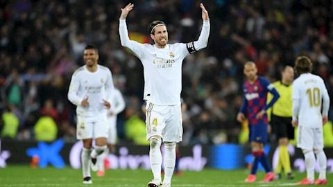 Ramos phản pháo lời dè bỉu của Pique về Real Madrid hình ảnh