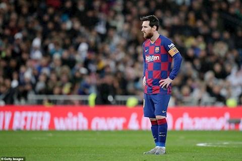 Leo Messi nổi nóng quát tháo đồng đội sau trận thua El Clasico hình ảnh