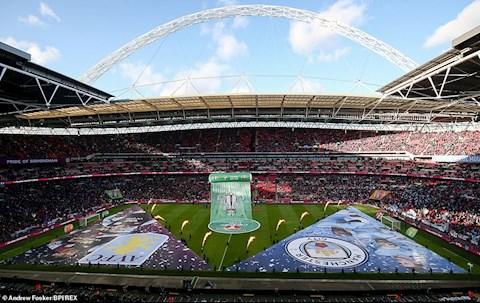Hinh anh tuyet dep o san Wembley