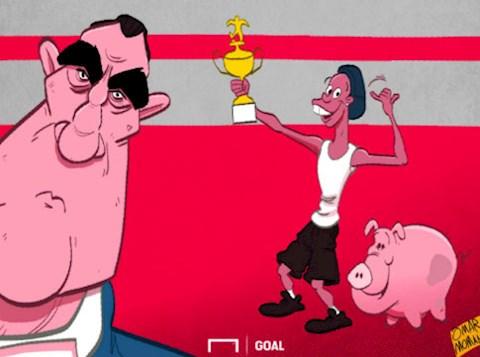 Ronaldinho ngồi tù Sinh nhật tuổi 40 với con lợn sữa 16kg! hình ảnh 2