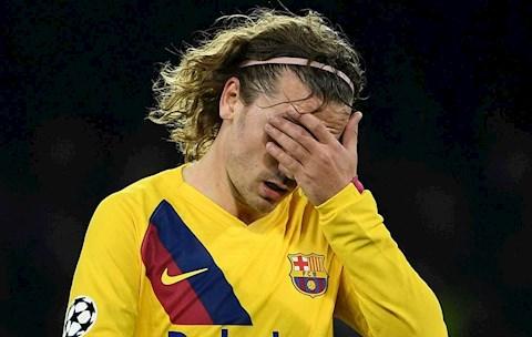 Barca sẵn sàng chịu lỗ để tống khứ 'bom xịt' Antoine Griezmann hình ảnh