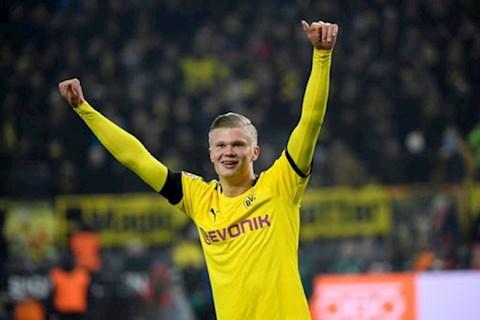 Tottenham chiêu mộ tiền đạo Erling Haaland của Dortmund hình ảnh