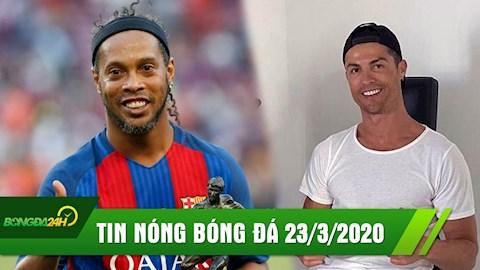 TIN NÓNG BÓNG ĐÁ 233 Ronaldo chung tay hỗ trợ Covid 19 hình ảnh