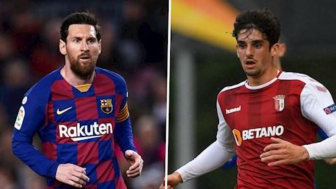 Tân binh Trincao của Barca được so sánh với Messi hình ảnh