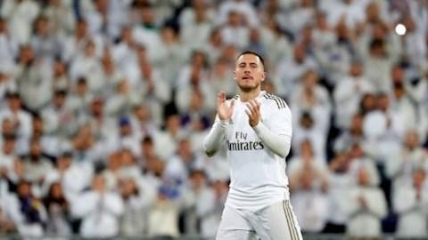 Tiền vệ Eden Hazard thất vọng với mùa đầu tiên ở Real hình ảnh