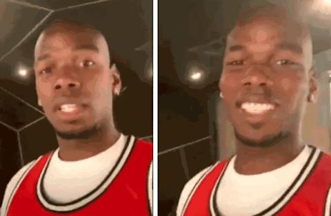 Tiền vệ Paul Pogba quyết định cạo đầu hình ảnh