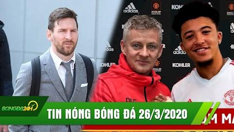 TIN NÓNG BÓNG ĐÁ 263 Messi góp 1 triệu Euro để đẩy lùi Covid hình ảnh