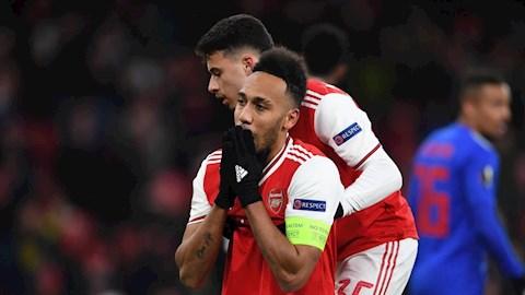 Aubameyang co the roi Arsenal o He 2020