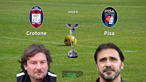Crotone vs Pisa 3h00 ngày 43 Hạng 2 Italia 201920 hình ảnh