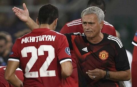 Henrikh Mkhitaryan Xung đột với Mourinho, thân tình với Klopp hình ảnh