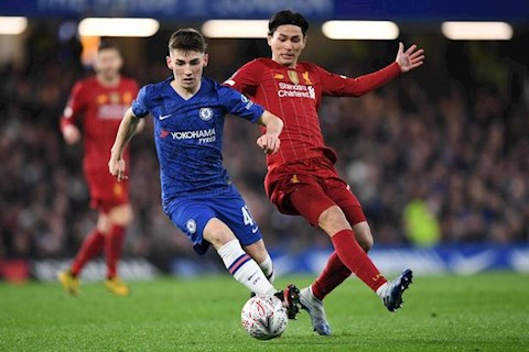 Chelsea thang Liverpool 2-0 Billy Gilmour