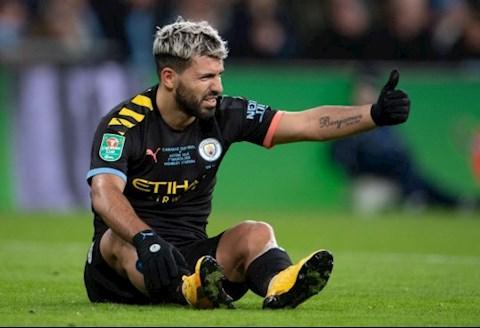 HLV Pep Guardiola lên tiếng về chấn thương của Kun Aguero hình ảnh