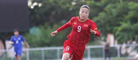 Nữ tuyển thủ Huỳnh Như quyết tâm làm nên bất ngờ trước Australia hình ảnh