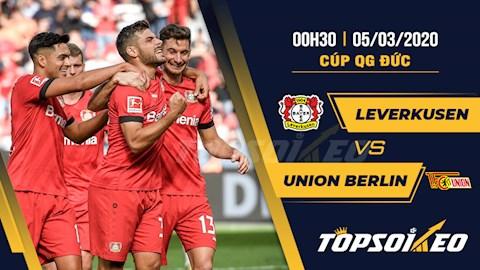 Leverkusen vs Union Berlin 0h30 ngày 53 Cúp quốc gia Đức 201920 hình ảnh
