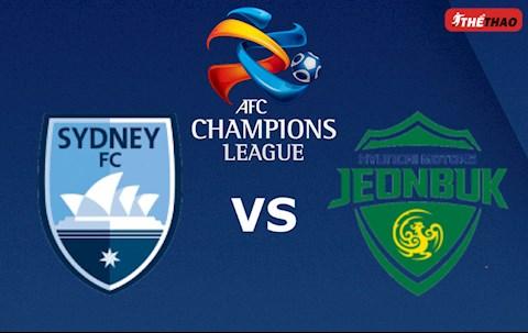 Sydney vs Jeonbuk Hyundai 15h30 ngày 43 AFC Champions League 2020 hình ảnh