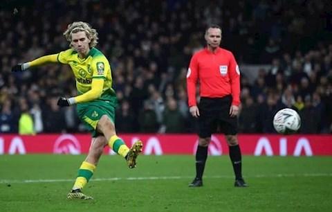 Bị Norwich hét giá Todd Cantwell, Liverpool tức tốc rút lui hình ảnh