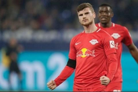 Barca muốn mua tiền đạo Timo Werner của Leipzig hình ảnh