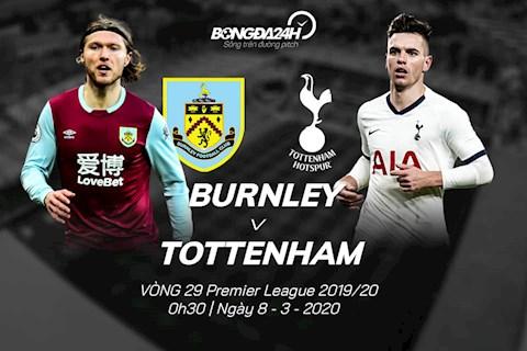 Trực tiếp Burnley vs Tottenham vòng 29 Ngoại hạng Anh 2020 hình ảnh