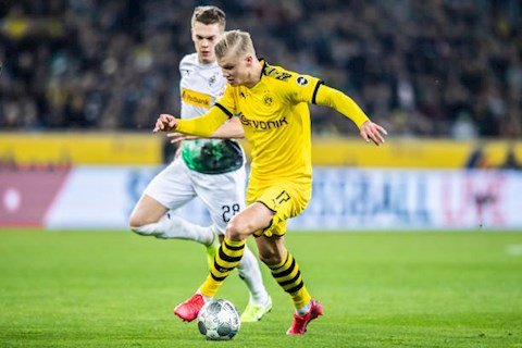Bàn thắng kết quả Gladbach vs Dortmund 1-2 Bundesliga hình ảnh