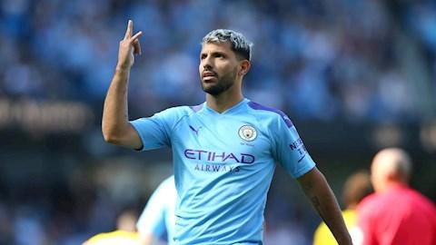 Sergio Aguero rời Man City ở Hè 2020 hình ảnh