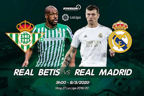 Real Betis vs Real Madrid ava