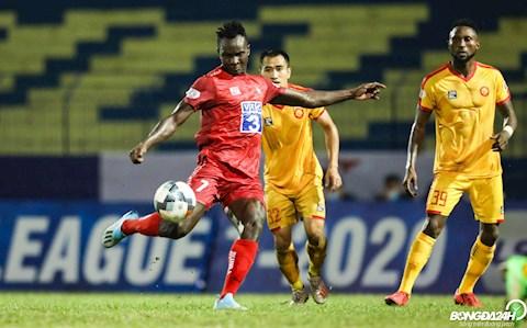 Joseph Mpande Thanh Hoa vs Hai Phong V-League 2020