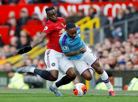 Aaron Wan-Bissaka sinh ra là để khoác áo Man United! hình ảnh