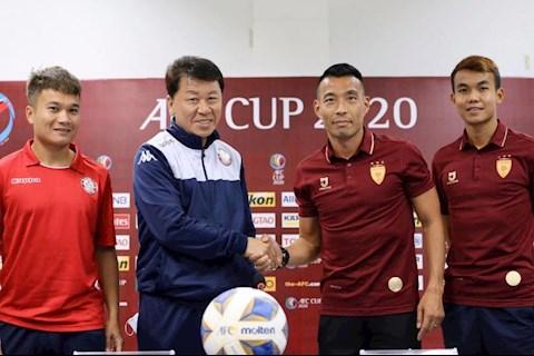 HLV Chung Hae Song tự tin trước trận gặp Lao Toyota hình ảnh