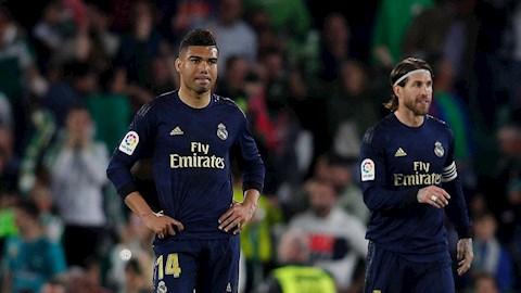Casemiro Trận thua Betis sẽ khiến Real Madrid trả giá đắt hình ảnh