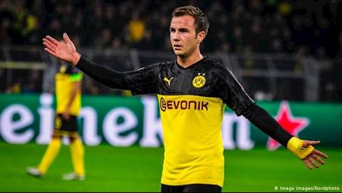 Chính thức Tiền vệ Mario Gotze rời Dortmund hình ảnh