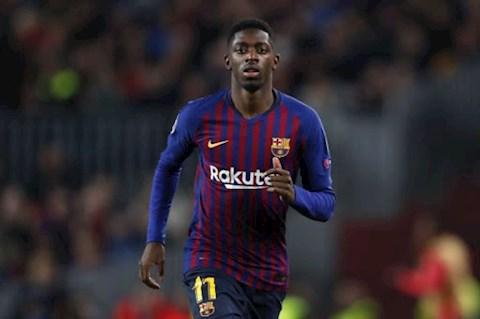 Barca kho thanh ly Ousmane Dembele o He 2020