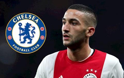 Hakim Ziyech toi Chelsea