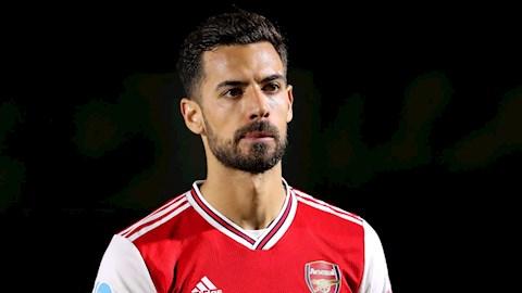 Pablo Mari len tieng ve tuong lai o Arsenal