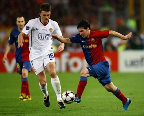 Tiền vệ Michael Carrick nói về thất bại trước Barca năm 2009 hình ảnh