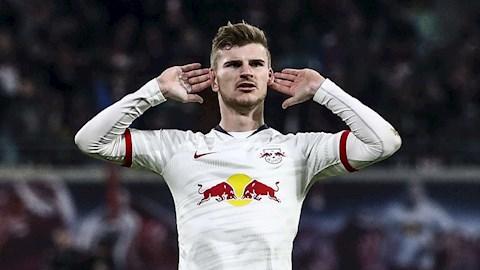Bayern Munich mua tiền đạo Timo Werner của RB Leipzig hình ảnh