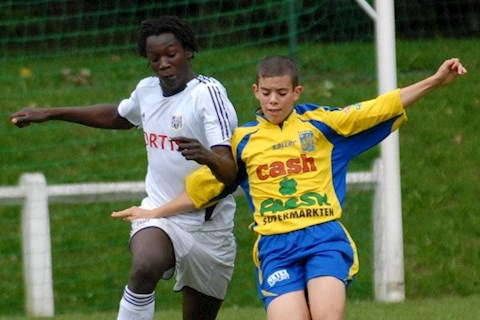 VIDEO Hình thể bò mộng của Romelu Lukaku khi mới 14 tuổi hình ảnh