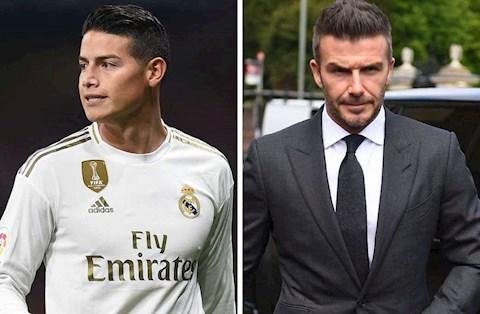 Beckham đàm phán mang James Rodriguez về Inter Miami hình ảnh