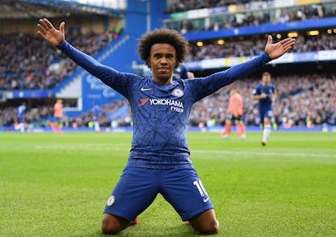 Liverpool bất ngờ hỏi mua tiền đạo Willian của Chelsea hình ảnh