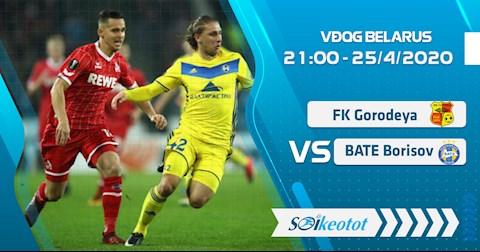 Gorodeya vs BATE Borisov 21h00 ngày 254 VĐQG Belarus 2020 hình ảnh