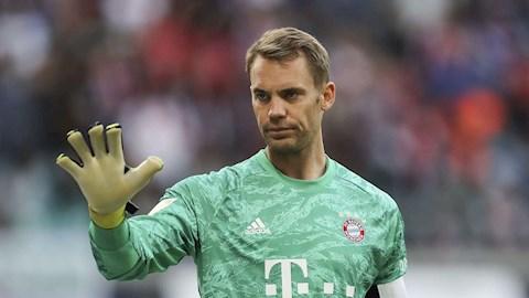 Bayern tiết lộ tương lai  thủ môn Manuel Neuer hình ảnh