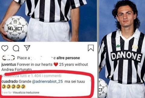Juan Cuadrado cợt nhả vô lễ trước di ảnh của sao Juventus qua đời hình ảnh