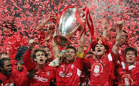 Liverpool vo dich Champions League 2005