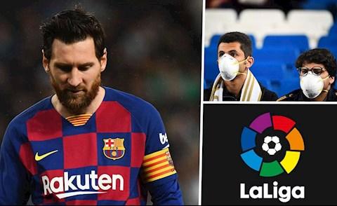 Chính quyền TBN dội nước lạnh vào hy vọng trở lại sớm của La Liga hình ảnh