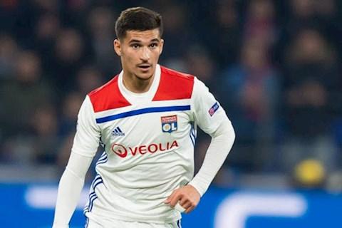 HLV Guardiola rất thích ngôi sao Houssem Aouar của Lyon hình ảnh