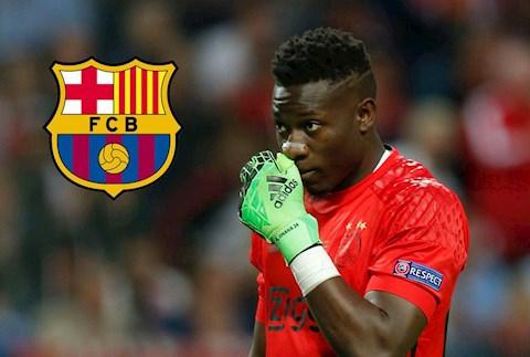Barca đàm phán mua lại thủ môn Andre Onana của Ajax hình ảnh