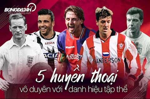 5 huyền thoại bóng đá vô duyên với các danh hiệu tập thể hình ảnh