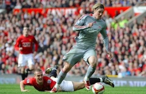 Vì sao trung vệ Nemanja Vidic gặp khó trước Torres hình ảnh