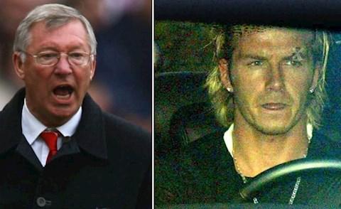 Ferguson va Beckham