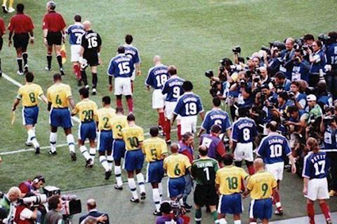 Xem lại trận chung kết World Cup 1998 giữa Brazil vs Pháp (Full trận)