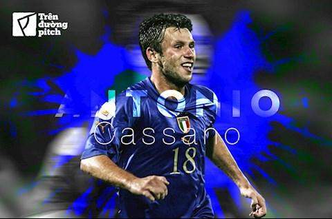 Antonio Cassano: Những vở kịch dang dở giữa cuộc đời (p1)